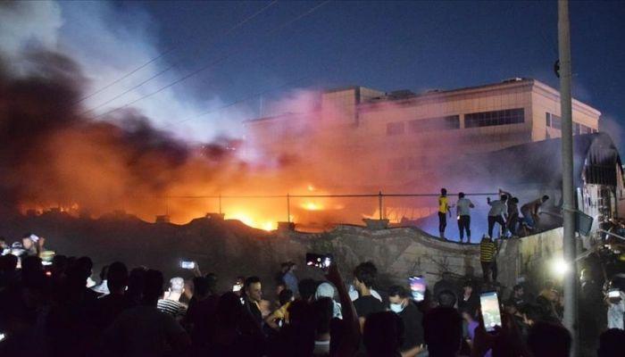 العراق: ارتفاع حصيلة ضحايا حريق المستشفى.. وأوامر باعتقال مسؤولين صحيين
