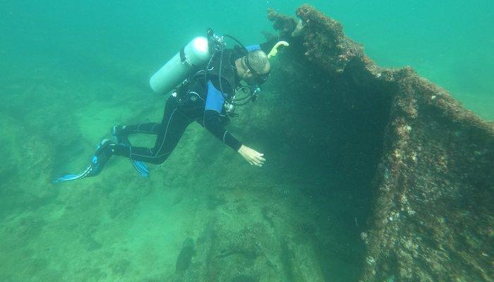 Documentation of shipwreck site along Oman's coast complete