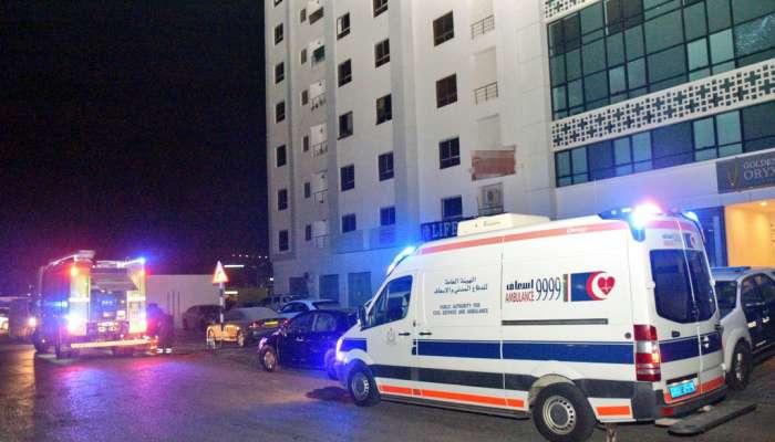 Fire in multi-storey building in Oman, 15 rescued