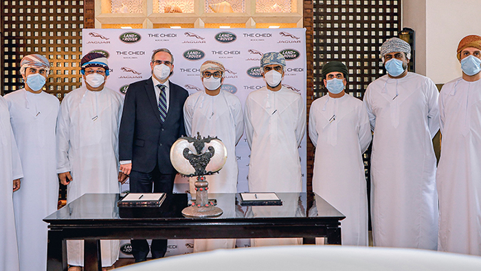 MHD ACERE signs agreement with Chedi Muscat