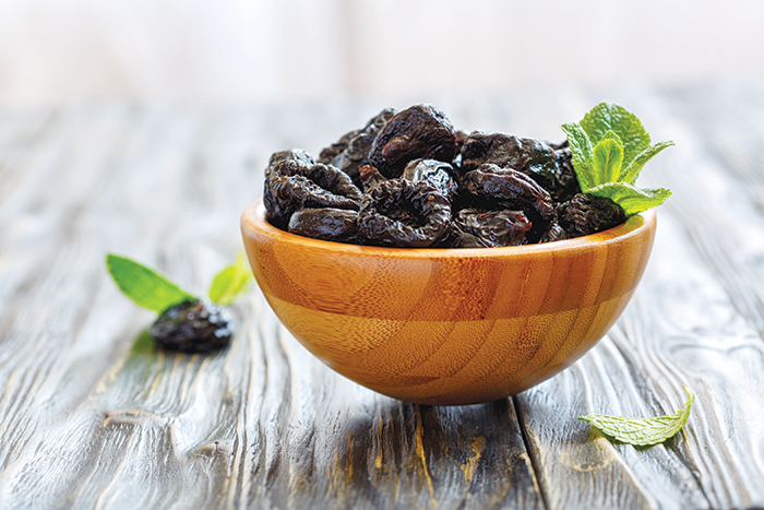 Prunes can feed your health at  important stages of life