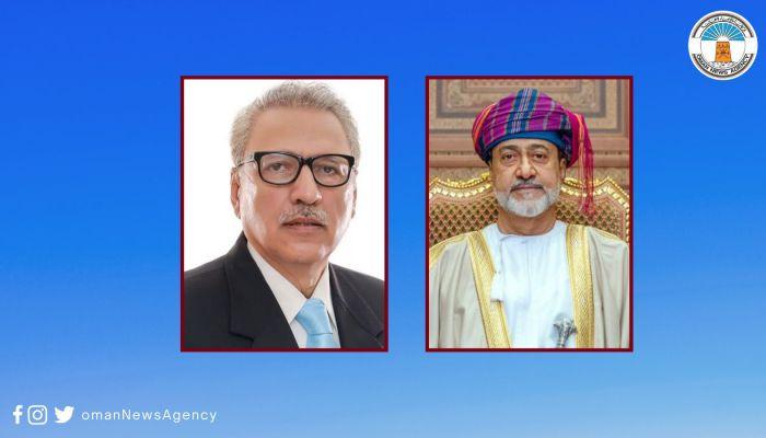 جلالة السلطان يبعث برقية تعزية ومواساة إلى الرئيس الباكستاني
