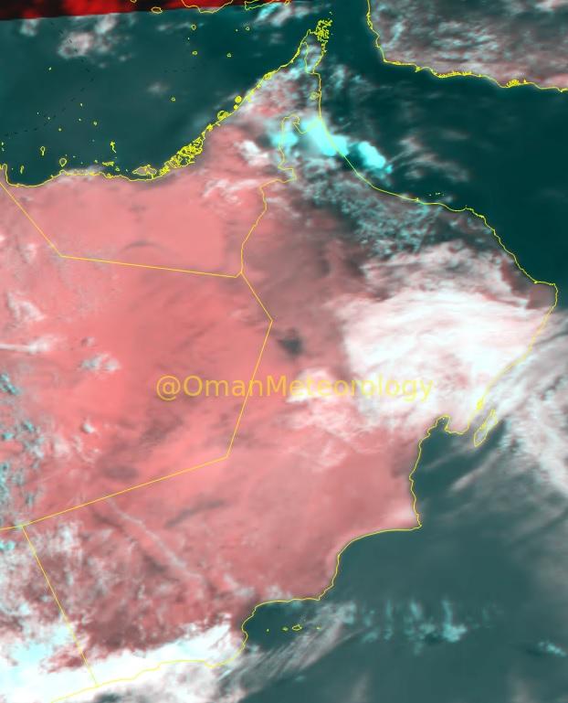 الأرصاد: فرص هطول أمطار متفاوتة الغزارة اليوم مستمرة