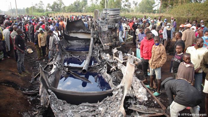 Fuel tank blast kills over dozen people in Kenya