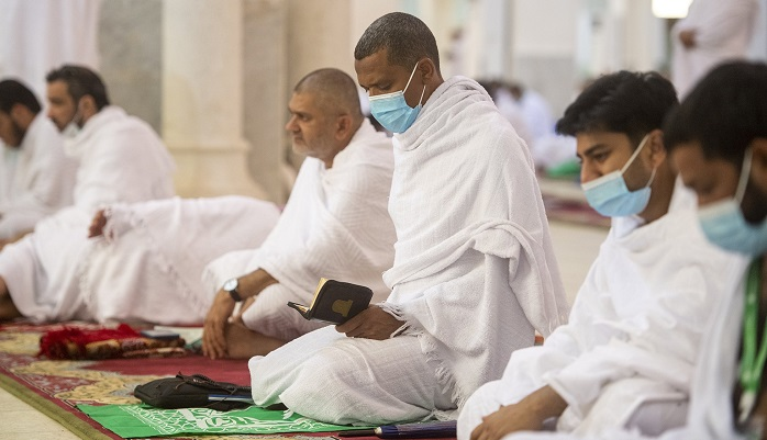 In pictures: Pilgrims gather for prayer at Arafah