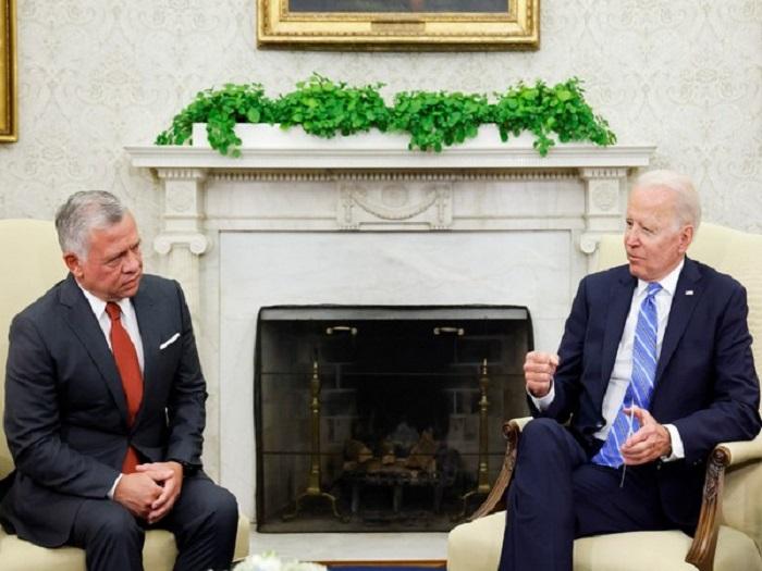 Biden, Jordan King discuss US aid to modernise Jordan's fleet of F-16 jets