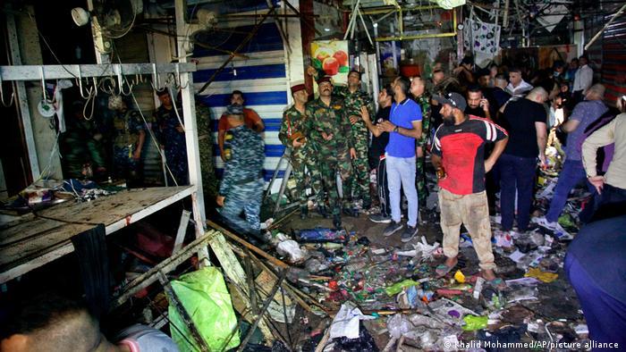 Death toll in Iraq market blast rises to 31