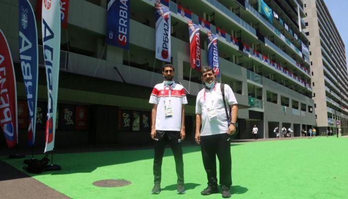 بعثة السلطنة تصل القرية الأولمبية بطوكيو