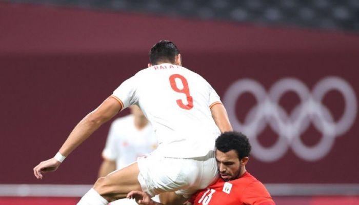مصر تعرقل اسبانيا بالتعادل السلبي في مسابقة كرة القدم بأولمبياد طوكيو