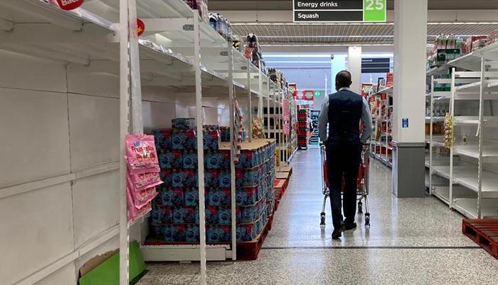 British supermarkets warn of 'pingdemic' threat to food supplies