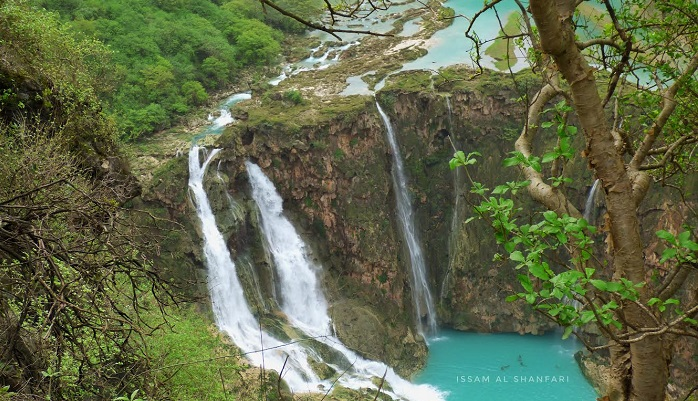 In pictures: The cascading green beauty of Edgren Waterfalls
