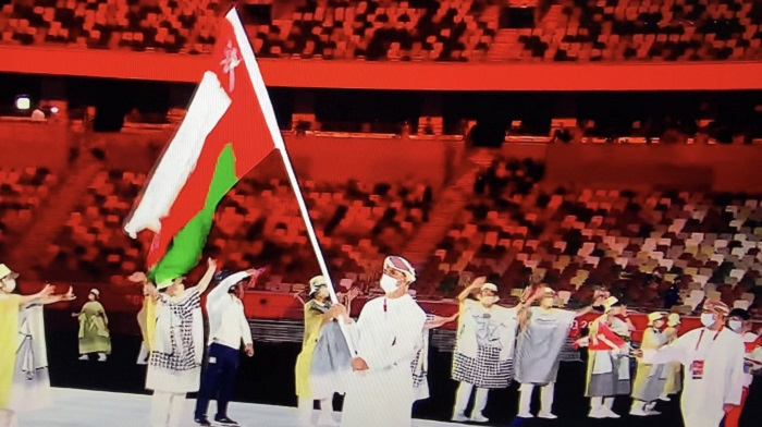 Omani delegation participates in opening ceremony of 32nd Olympic Games in Tokyo