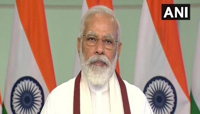 Indian PM Modi catches glimpses of Tokyo Olympics opening ceremony, urges all to 'Cheer4India'