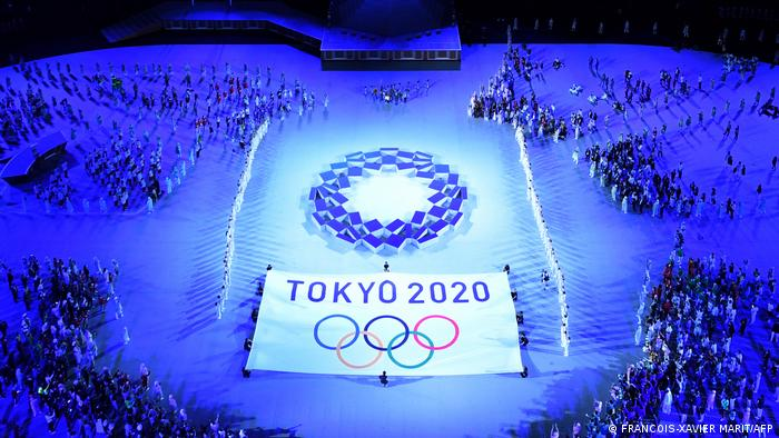 Tokyo 2020 opens with sombre ceremony