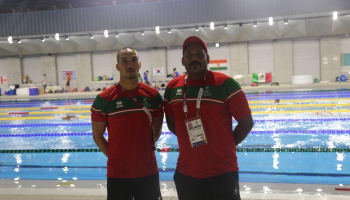 العدوي.. طموحات وآمال عمانية كبيرة  في السباحة للصعود الى الأدوار النهائية بأولمبياد طوكيو .