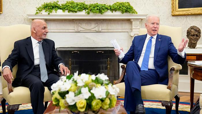 US President  Biden pledges support for Afghanistan government