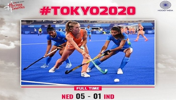 Tokyo Olympics: Netherlands thrash India 5-1 in women's hockey Pool A opening game