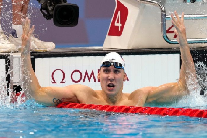 US swimmer Chase Kalisz wins men's 400m IM at Tokyo Olympics