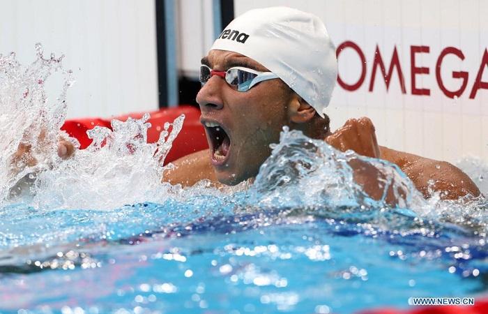 Teenage Tunisian wins men's 400m freestyle at Tokyo Olympics