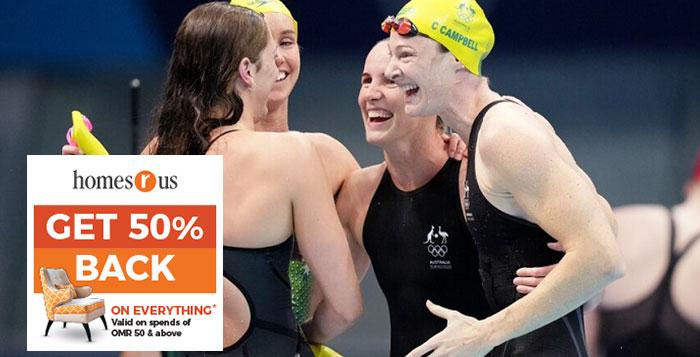 Australia break world record to win women's 4X100m freestyle relay gold at Tokyo Olympics