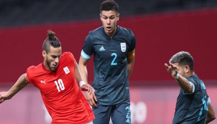 مصر تخسر أمام الارجنتين في كرة القدم الرجالية بأولمبياد طوكيو