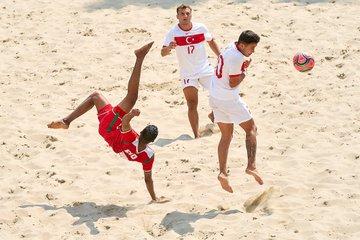 سباعية عمانية في الشباك التركية في ختام بطولة أوكرانيا الدولية لكرة القدم الشاطئية