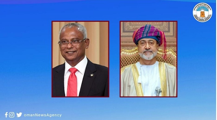 His Majesty sends greetings cable to Maldives President