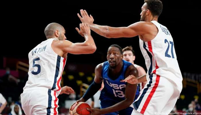 Tokyo Olympics: USA men's basketball loses opener to France