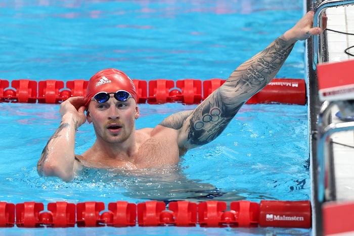 British swimmer wins men's 100m breaststroke gold, Australian beats WR holder Ledecky for 400m freestyle gold