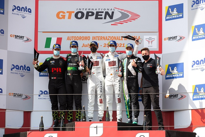 Stunning race two victory for Al-Zubair, Soucek at Imola