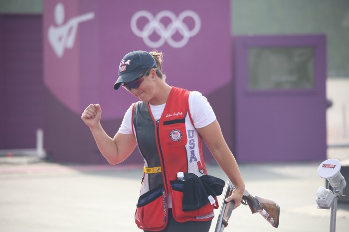 US shooter English wins women's skeet at Tokyo Olympics