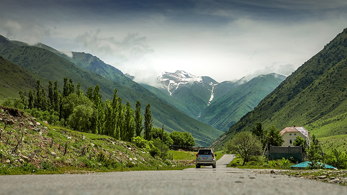 A gateway to the Mountains of Heaven: Bishkek in Kyrgyzstan