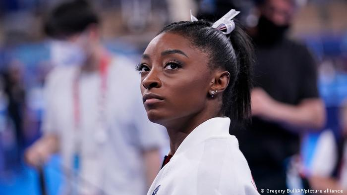 Simone Biles withdraws  from Olympic all-around  competition to focus  on mental health
