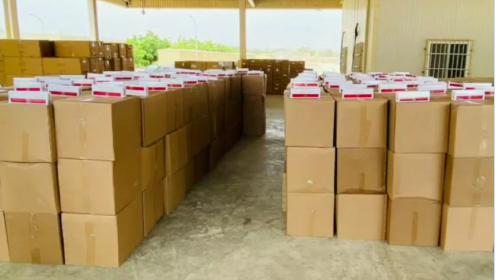 Oman customs seizes over 14,000 boxes of cigarettes