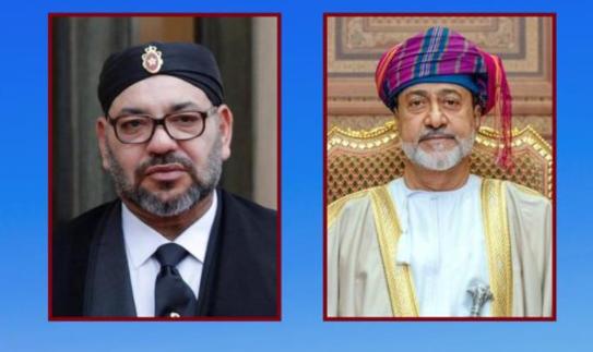 جلالة السلطان يهنئ ملك المملكة المغربية بمناسبة ذكرى عيد العرش