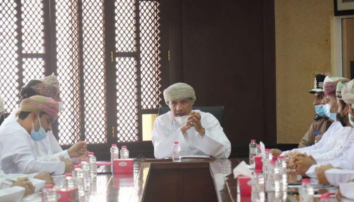 استعراض مستجدات مشاركة السلطنة في معرض إكسبو دبي بغرفة شمال الباطنة