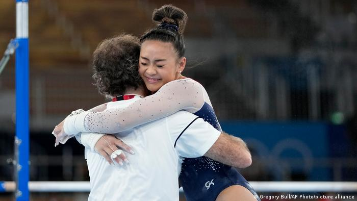 American Sunisa Lee takes gold in women's all-around gymnastics