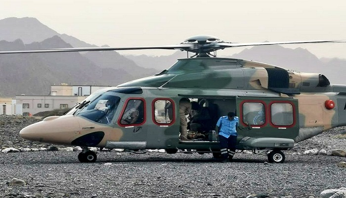 CDAA airlifts critical patient to hospital in Oman