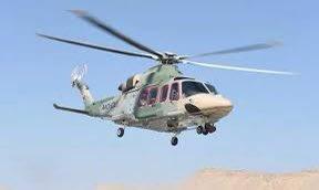 طيران الشرطة ينقل مصابًا في نزوى