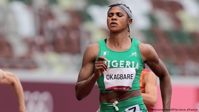 Nigerian sprinter provisionally suspended for doping