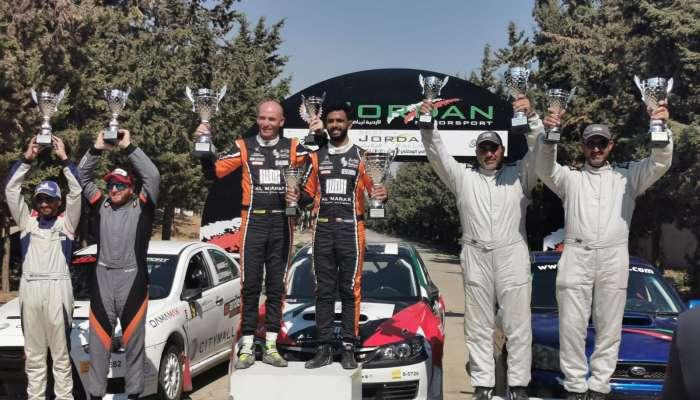 Abdullah claims Jordan Rally third round title