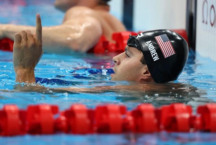 US break world record to win men's Olympic 4x100m medley relay