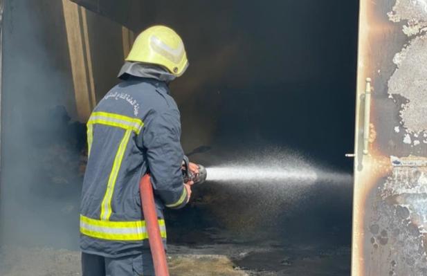 Fire erupts in Barka warehouse