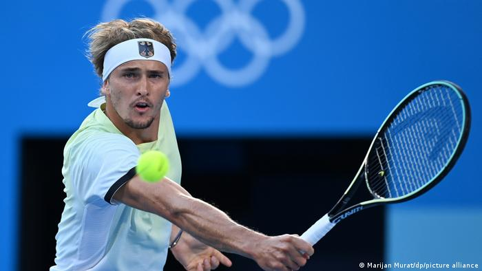 Zverev becomes first German singles tennis player to win gold at Games