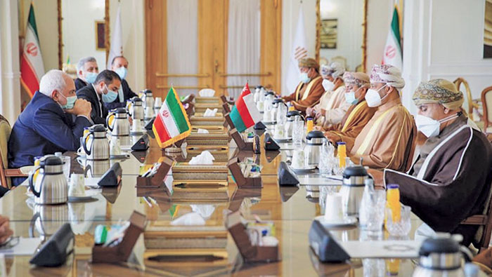 Oman, Iran review bilateral relations and joint cooperation