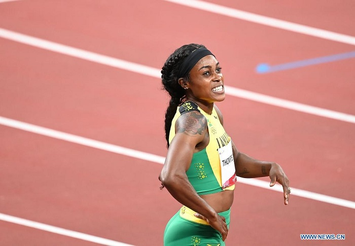 Jamaican sprinter Elaine Thompson-Herah wins women's 200m gold