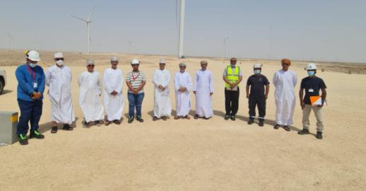 وكيل وزارة الطاقة و المعادن يزور شركة تنوير للكهرباء