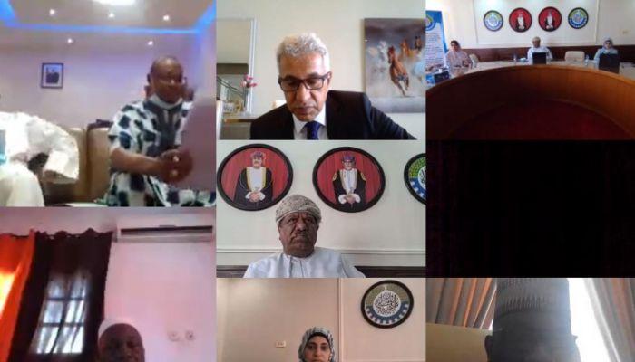 رئيس الغرفة يناقش فرص التعاون التجاري بين السلطنة والسنغال