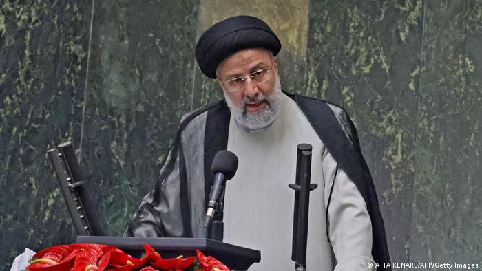 Ebrahim Raisi sworn in as president of Iran