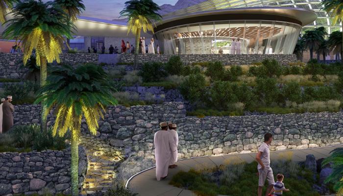 حديقة النباتات العمانية من أكبر الحدائق النباتية عالميًا .. و وزير السياحة يعلق: الهدف 2023